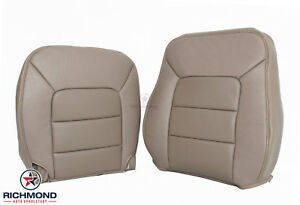 2005 Expedition Limited Driver Side Complete Perforated Leather Seat Covers Tan