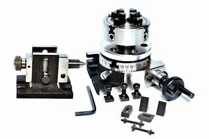 Rotary Table 3 75 Mm With 70 Mm Independent Chuck Clamping Kit