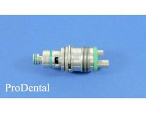 Star Brand 4 hole Swivel Dental Handpiece Coupler W waterline Prodental