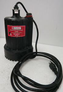 Utilitech 1 6hp Submersible Utility Pump 0309016