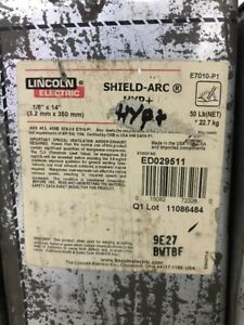 50 Lincoln Ed029511 1 8x14 Shield arc Hyp Welding Stick Electrodes