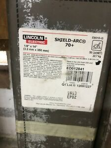50 Lincoln Ed012841 1 8x14 Shield arc 70 Welding Stick Electrodes