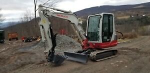 Bobcat E35 Excavator Cab A c Hydraulic Thumb Low Hours Ready To Work In Pa