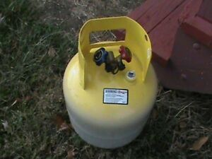 Refrigerant Recovery Reclaim Cylinder Tank 50lb Pound 400 Psi
