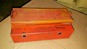 Allis Chalmers Wc Tractor Tool Box Frame Mount Ac Tool Box Rc Nice