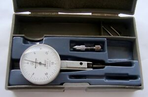 Mitutoyo No 513 202 Dial Test Indicator inv74