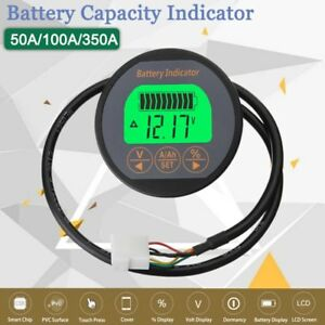 80v 350a 100a 50a Waterproof Digital Lcd Battery Voltmeter Voltage Meter Monitor