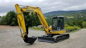2005 Komatsu Pc78 Mr6 Excavator Low Hours Good Tracks 18k Lbs Ready To Work Pa