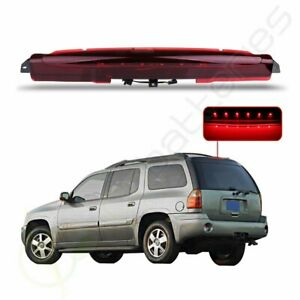 Red Housing Led 3rd Third Brake Tail Light For 2004 2007 Buick Rainier Gmc Envoy