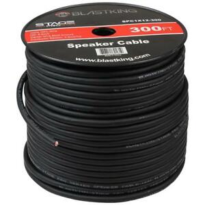 12 Awg 2 conductor Speaker Cable Wire 300 Ft Spool Spc1x12 300