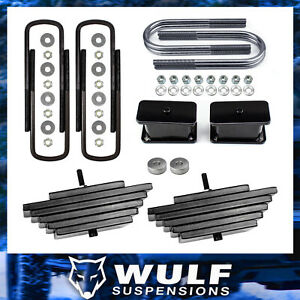 3 5 Front 3 Rear Lift Kit For 1999 2004 Ford F250 F350 Super Duty Sd 4x4 4wd