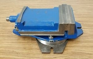 Heavy Duty Milling Vise Swivel Base 6 3 8 Jaws
