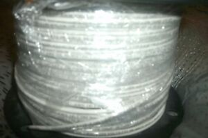 500 ft Roll 14 awg Solid White Copper Thhn Wire Made In Usa f7