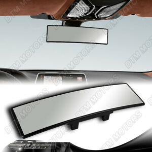 Jdm 300mm Wide Convex Interior Clip On Car Truck Rear View Mirror For Honda Ford