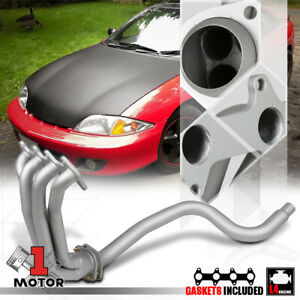 Silver Coated Exhaust Header Manifold For 95 02 Chevy Cavalier sunfire Ln2 2 2