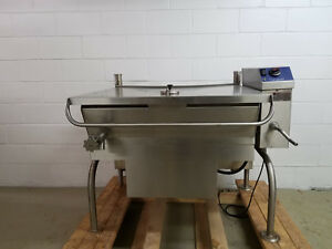 Cleveland Tilt Skillet 40 Gallon Sgl 40 ti Tested Natural Gas