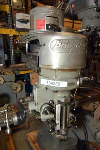 Bridgeport J Head Head Only inv 34220
