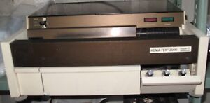 Lot Of 3 Bayer Hema tek 2000 Model 4488 Hematology Slide Stainer