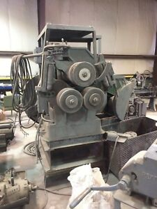 Angle Roll Ring Roller Pipe Roll Tube Roll Old But Still Works