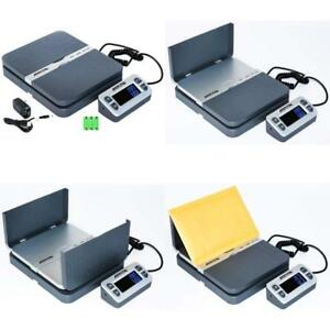 Accuteck Shippro 110lbs X 0 1 Oz Digital Shipping Postal Scale Gray w 8580 11