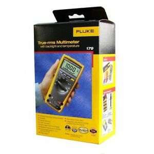 Fluke 179 True Rms Digital Multimeter new In Box Msrp 325