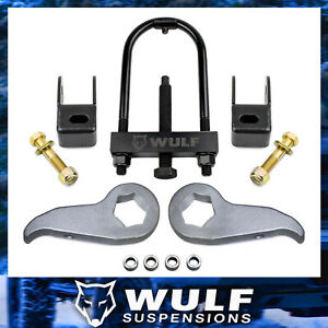 3 Front Leveling Lift Kit 2011 2018 Chevy Silverado 2500 2500hd W Torsion Tool