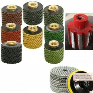 2 Wet Polishing Grinding Drum 8 4 Diamond Polishing Pad 70 2 Stone Concrete