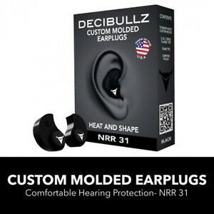 Earplugs For Kids Adult Molded Hearing Protection For Shooting Travel Swimming