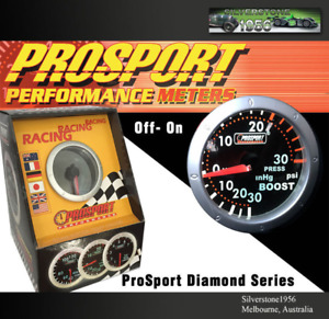 Prosport 2 52mm Vacuum Meter Gauge Diamond Series