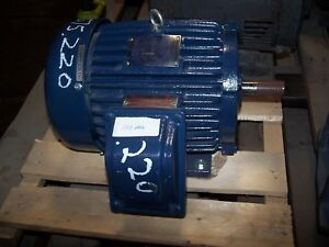 New Teco 5 Hp Ac Electric Explosion Proof Motor 184t Frame 230 460 Vac 1745 Rpm