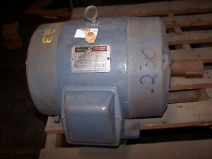 Reliance 20 Hp Ac Electric Motor 254t Frame 460 Vac 3515 Rpm