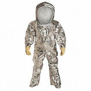 Dupont Rf600tsvlg000100 Tychem Reflector Suit Level A personal Protection Suit