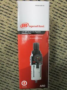 Ingersoll Rand 1 2 Npt Air Line Piggyback Regulator filter P39344 600 vs New