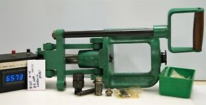 #6573 RCBS A4 Big Max reloading press--complete and nice