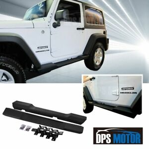 Factory Style Abs Running Board Side Step Nerf Bar For 07 17 Jeep Wrangler Jk 2d