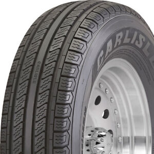 St205 75r14 8 Ply Carlisle Radial Trail Hd Trailer Tires Set Of 2