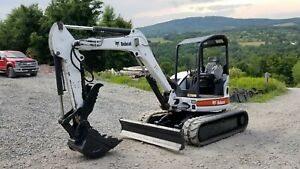 2015 Bobcat T770 Track Skid Steer Fecon Forestry Mulcher Fully Loaded We Finance