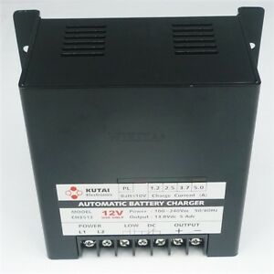 Ch3512 Panel Mountable Generator Battery Charger Automatic 5 Amp Ot