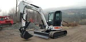 2008 Bobcat 435g Excavator Heat A c Hydraulic Thumb Ready 2 Work Finance