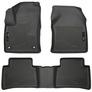 Husky Liners 16 18 Toyota Prius Weatherbeater Floor Mats Front Second Row