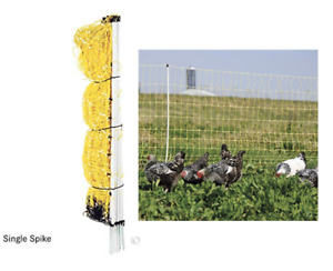 Poultry Net Electric Fence Chicken Goat Pig Outdoor Fencing Large Cage 48 X 164