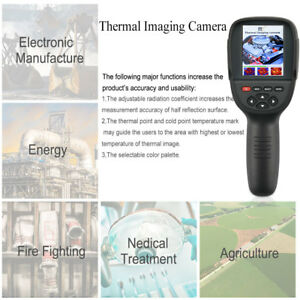 Handheld Infrared Digital Thermal Imager Detector Camera Ir Temperature Heat Fun