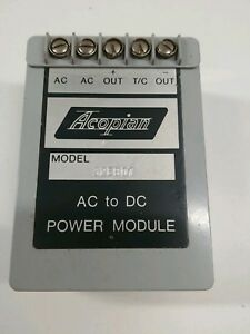 Guaranteed Good Acopian 07 Amp 32v Ac To Dc Power Module 32eb07