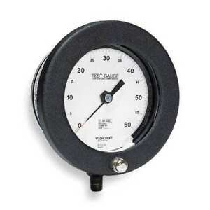 Pressure Gauge 0 To 15 Psi 6in 1 4in Npt