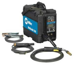 Multiprocess Welder Multimatic 200 Series 120 Or 240 Miller Electric 907518