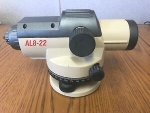 David White Al8 22 Auto Level Autolevel Kit Surveyor s Instrument Rod