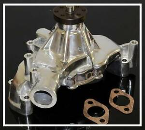Bbc Chevy 454 Long Polished Aluminum Water Pump Hc 8022 p