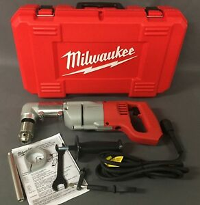 Milwaukee 7 Amp 1 2 In Corded Heavy Right angle Drill Kit 3107 6 a
