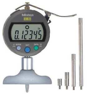 Electronic Digital Depth Gage 0 To 8 In Mitutoyo 547 257s