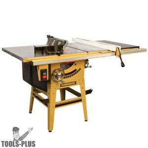 Powermatic 1791229k 64b 1 75hp 115 230v Contractor Table Saw New